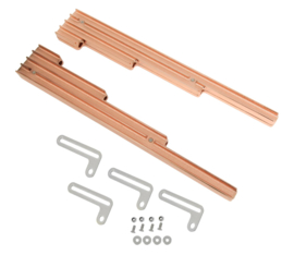 Aluminium kabel gelijders finned copper