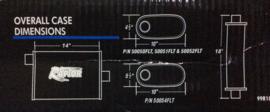 uitlaatdemper flowtech raptor 3 inch