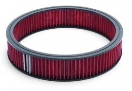 Edelbrock 14 X 3 inch rood filter