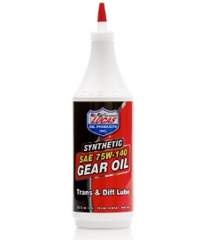 LUCAS SYNTHETIC SAE 75W-140 GEAR OIL
