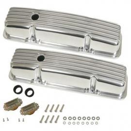 Chevrolet SB Aluminium klepdeksels  classic look