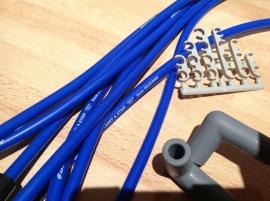 Blauwe bougiekabels GM set