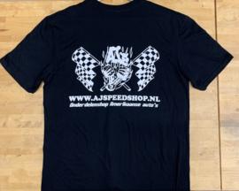 AJ Speedshop  t-shirt zwart