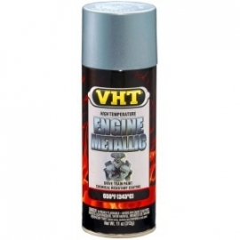 VHT engine metallic paint titanium zilver blue sp403