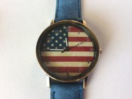 American flag horloge