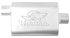 Uitlaatdemper Thrush welded  2,25 inch