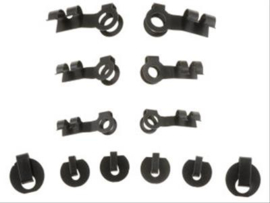 Retainer Clips, Linkage Style,  Set of 12