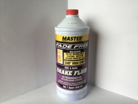Fade free dot 5 silicone purple brake fluid
