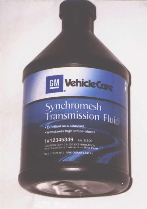 Synchromesh transmission fluid GM