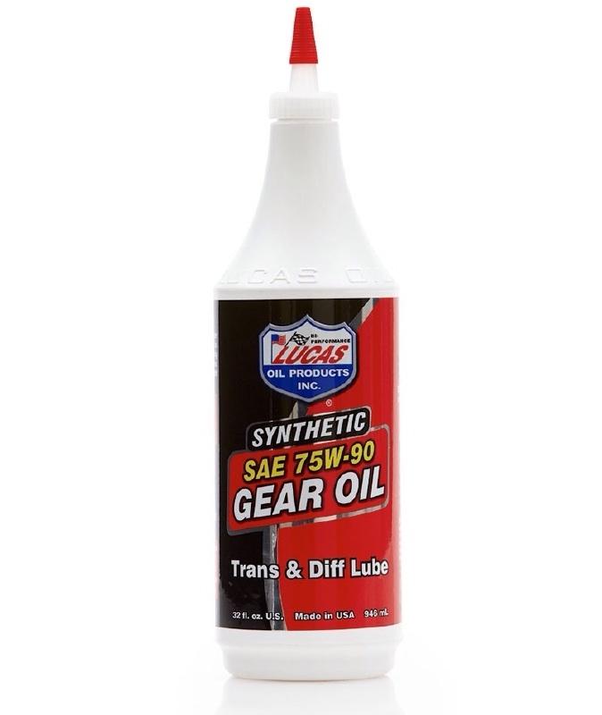 LUCAS SYNTHETIC SAE 75W-90 GEAR OIL