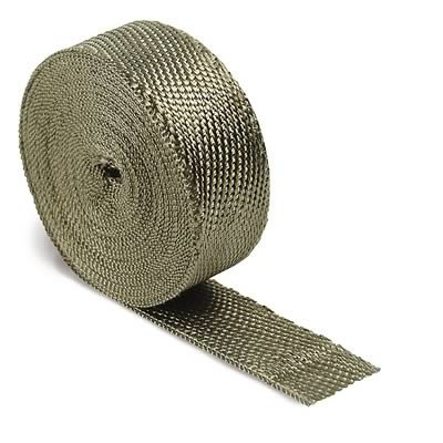 Exhaust and Header Wrap, Titanium, 2 in. Wide x 50 ft., Each