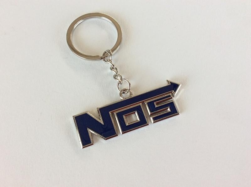 NOS sleutel hanger blauw