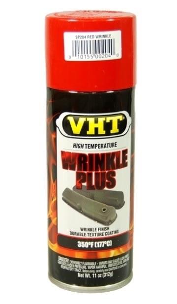 VHT wrinkle paint rood sp204