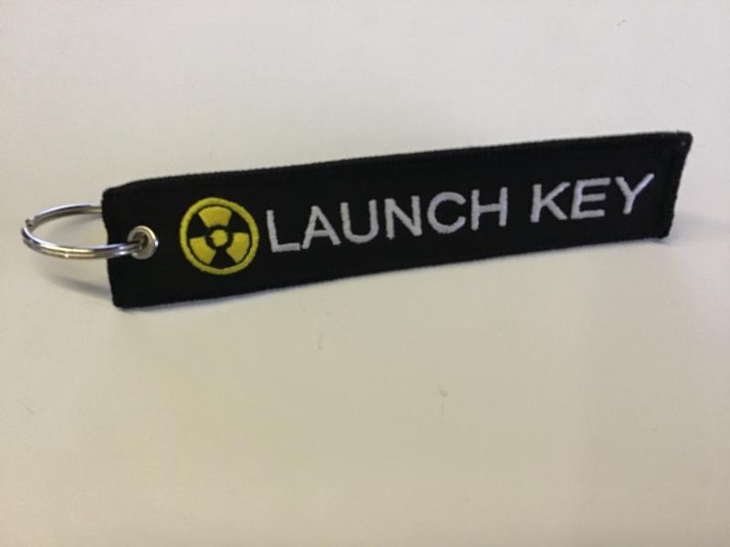 Launch key sleutelhanger