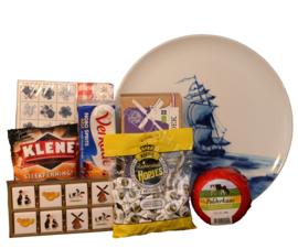 Sailing ship plate