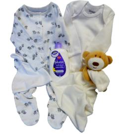 Baby Teddy & Lambs