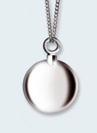 Kleine rond bol in zilver 221 BKZ