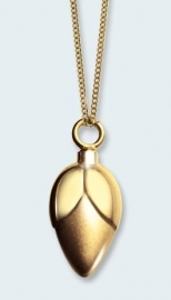 Bloemknop in goud 334 BLG