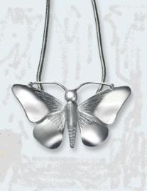 Vlinder in zilver  298 ZVL