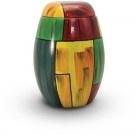 Glasfiberurn met kleurmotief GFU211