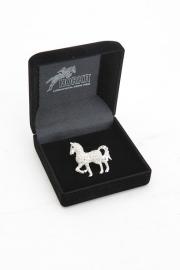 Plastronspeld Glitter paard
