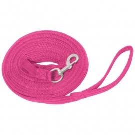 Longeerlijn Hot Pink