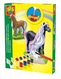 Gips gieten Paard Fancy