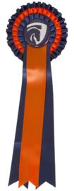 Rozet Blauw/Oranje