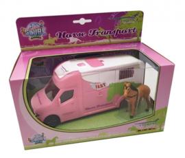 Kids Globe Paardenvrachtwagen Roze