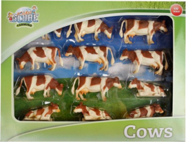 Rood Bonte Koeien 12 stuks