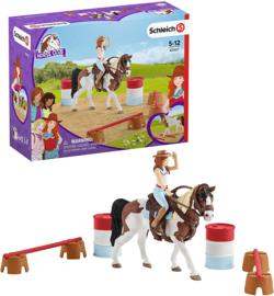 Horse Club Hannah's Western rijset