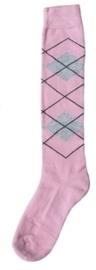 Excellent sokken Lichtroze/Lichtgrijs