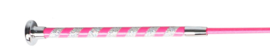 Dressuurzweep Glitterhandvat  Pink