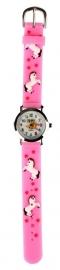 Paarden horloge Roze