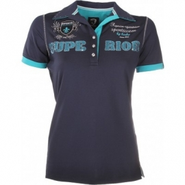Horka polo shirt Miami Blue