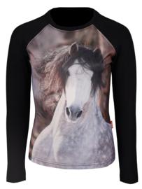 Long Sleeved/trui met Paarden print
