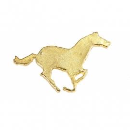Plastronspeld paard