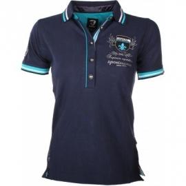 Horka polo shirt Verona Turquoise