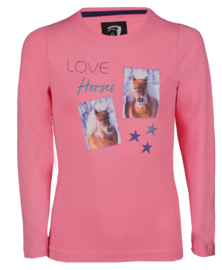 Long Sleeved/trui Pony met Paarden print