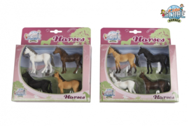 Kids Globe set Paarden