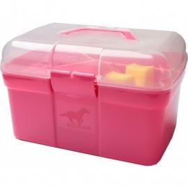 Poetskoffer met inhoud Pink