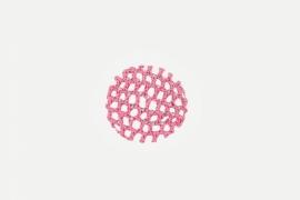 Haarnetje Strass Roze