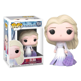FUNKO POP figure Disney Frozen 2 Elsa Epilogue (731)