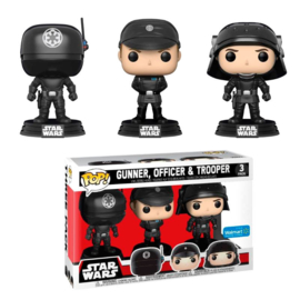 FUNKO POP 3 pack figures Star Wars Gunner, Officer & Trooper - Exclusive