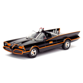 DC Comics Batman Classic TV Batmovil 1966 metal car - Scale 1:32