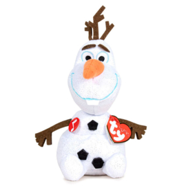 TY Disney Frozen Olaf TY plush toy with sound - 16cm