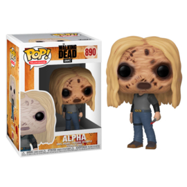 FUNKO POP figure Walking Dead Alpha with Mask (890)