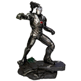 Marvel Avengers Endgame War Machine diorama statue 23cm