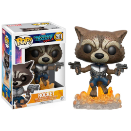 FUNKO POP figure Guardians of the Galaxy Rocket (201)