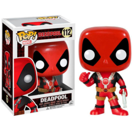 FUNKO POP figure Marvel Deadpool Thum Up (112)